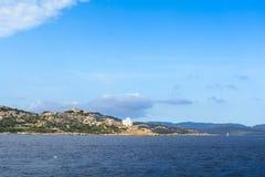 Landscape near Cannigione, Sardinia. In Italy Stock Image