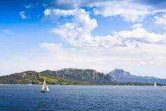 Landscape near Cannigione, Sardinia Royalty Free Stock Photos