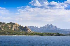 Landscape near Cannigione, Sardinia. In Italy Royalty Free Stock Image