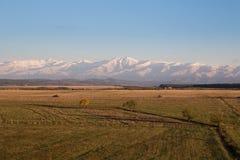 Landscape near the Carpathians Royalty Free Stock Image