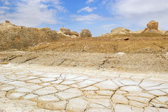Landscape near the Dead Sea, Israel Stock Photo
