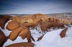 Landscape near Delicate arch Stock Photography