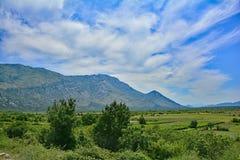 Landscape Near Dracevo Royalty Free Stock Photos
