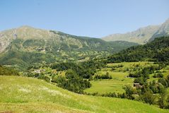 Landscape Near Dreznica Royalty Free Stock Photography