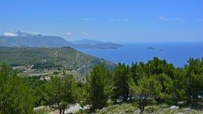 Landscape Near Dubrovnik Stock Image