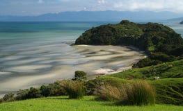 Landscape near Farewell Spit Stock Image