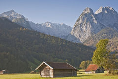 Landscape near Garmisch Royalty Free Stock Photo