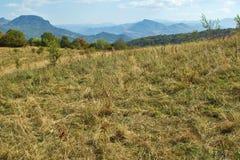 Landscape near Glozhene Monastery, Stara Planina Mountain  Balkan Mountains, Lovech region, Bulgaria Stock Image