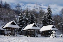 Landscape near by Great Rozutec Stock Image