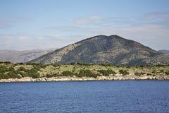 Landscape near Igoumenitsa and  Corfu. Greece.  Stock Images