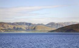 Landscape near Igoumenitsa and  Corfu. Greece.  Stock Image