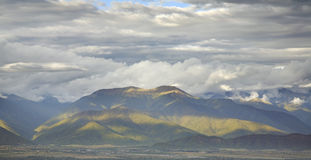 Landscape near Ikalto (Iqalto). Kakheti. Georgia Stock Image