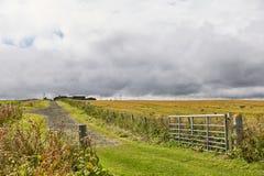 Landscape near John o`Groats area. Highlights nothern most mainland of Scotland.  stock photography