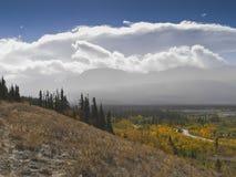 Landscape near kluane lake Royalty Free Stock Photography