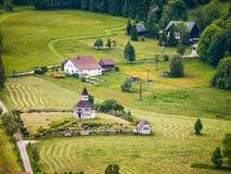 Landscape near Korenov Royalty Free Stock Photos