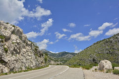 Landscape Near Kotor Bay Royalty Free Stock Photography