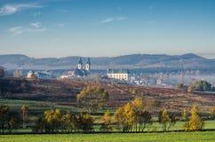 Landscape near Krzeszow, Poland Royalty Free Stock Photography