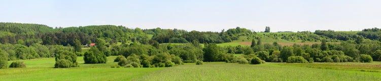 Landscape near Kurkliai town in the Anyksciai district Stock Image