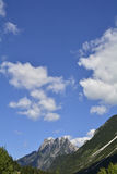 Landscape near Lago del Predil Royalty Free Stock Images