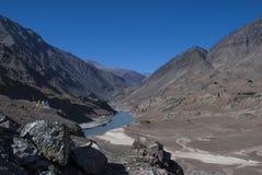Landscape near limo village ladakh