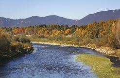 Landscape near Liptovsky Mikulas. Slovakia Stock Images