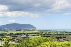 Landscape near Loreto Royalty Free Stock Photo