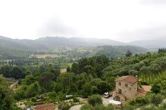 Landscape near Lucca Stock Photo