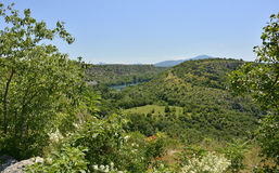 Landscape Near Manojlovac Slap  Royalty Free Stock Images