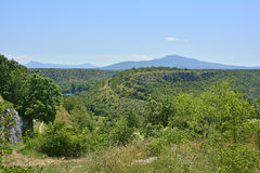 Landscape Near Manojlovac Slap  Royalty Free Stock Image