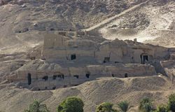Landscape near the mausoleum of Aga Khan in Egypt Stock Images
