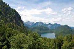 Landscape near Neuschwanstein Castle, Germany Royalty Free Stock Photography