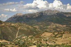 Landscape near Orgosolo. Sardinia. Italy Royalty Free Stock Photos