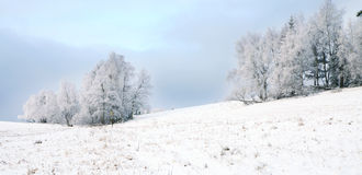 Landscape near Pasterka village in Poland Royalty Free Stock Photos