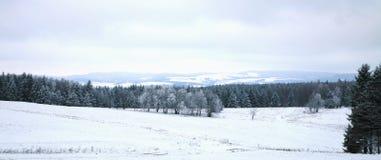 Landscape near Pasterka village in Poland Stock Photo