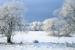 Landscape near Pasterka village in Poland royalty free stock photo