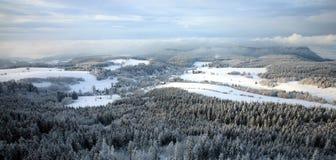 Landscape near Pasterka village in Poland Royalty Free Stock Image