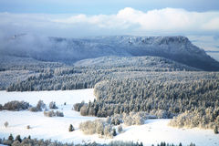 Landscape near Pasterka village in Poland Stock Photography