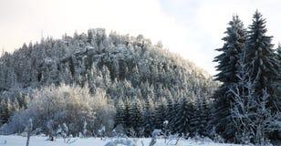 Landscape near Pasterka village in Poland Stock Photos