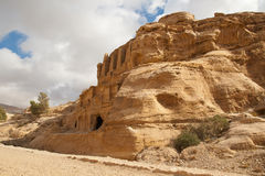 Landscape is near Petra Royalty Free Stock Images