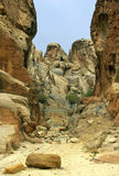 Landscape near of Petra in Jordan Stock Photography