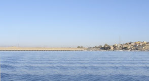 Landscape near Philae in Egypt Royalty Free Stock Photo