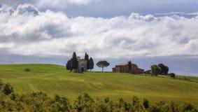 Landscape near Pienza, Tuscany, Italy Royalty Free Stock Image