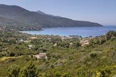 Landscape near Procchio, northern coast, Elba, Tuscany, Italy Stock Photo