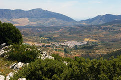 Landscape near Ronda. Stock Images
