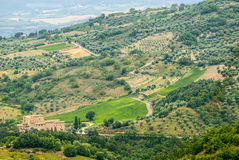 Landscape near Seggiano (Tuscany) Royalty Free Stock Images
