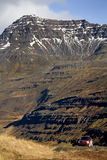 Landscape near Seydisfjordur - Iceland Royalty Free Stock Photos