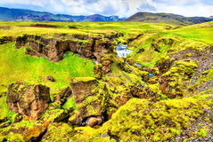 Landscape near the Skoga River - Iceland Royalty Free Stock Photo
