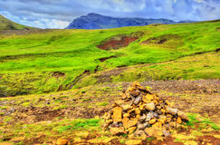 Landscape near the Skoga River - Iceland Royalty Free Stock Photography