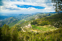 Landscape near small village Alaro Stock Photo