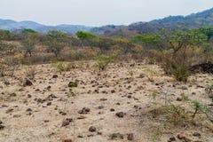 Landscape near Somoto canyon, Nicarag. Ua royalty free stock photos